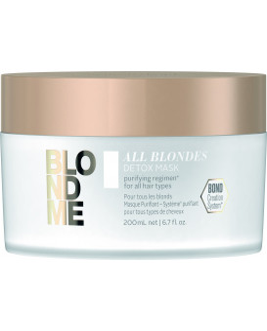 Schwarzkopf Professional BlondMe All Blondes Detox kaukė (200ml)
