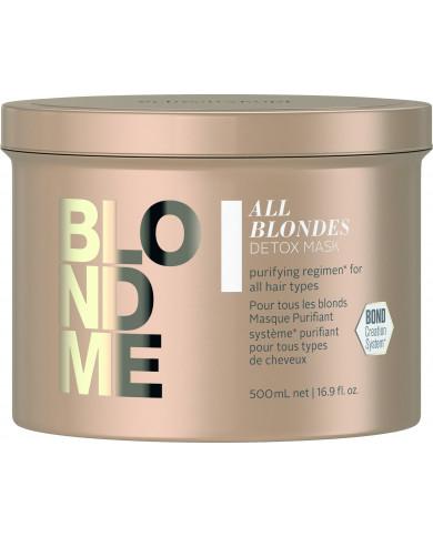 Schwarzkopf Professional BlondMe All Blondes Detox kaukė (500ml)