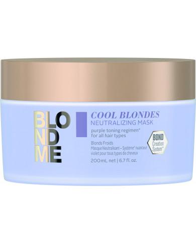Schwarzkopf Professional BlondMe Cool Blondes kaukė (200ml)