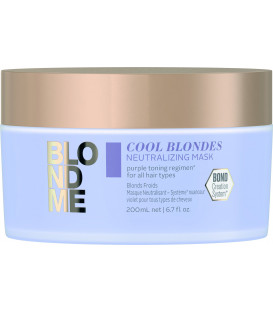Schwarzkopf Professional BlondMe Cool Blondes maska (200ml)