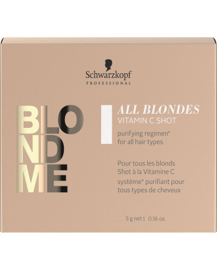 Schwarzkopf Professional BlondMe All Blondes Detox vitamin C shot