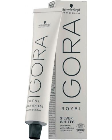 Schwarzkopf Professional Igora Royal Absolutes Silverwhite matu krāsa