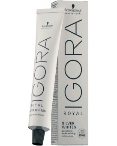 Schwarzkopf Professional Igora Royal Absolutes Silverwhite plaukų dažai