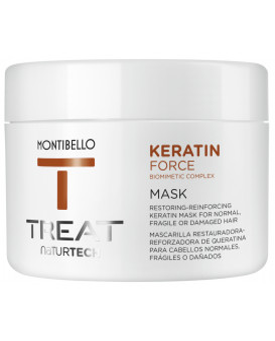 Montibello TREAT NaturTech Keratin Force kaukė (200ml)