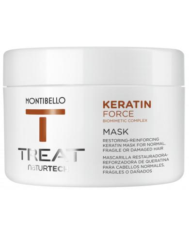 Montibello TREAT NaturTech Keratin Force maska (200ml)