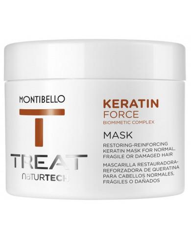 Montibello TREAT NaturTech Keratin Force kaukė (500ml)