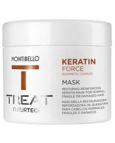 Montibello TREAT NaturTech Keratin Force mask (500ml)