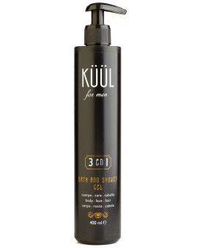KÜÜL For Men 3in1bath & shower gel
