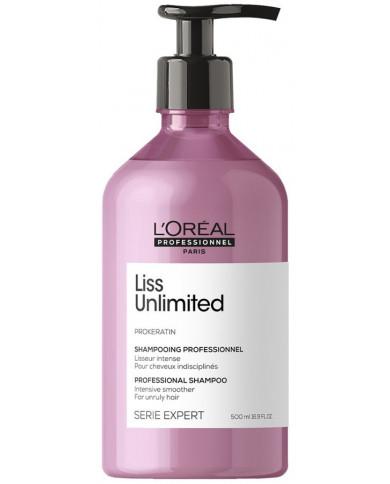L'Oreal Professionnel Serie Expert Liss Unlimited šampūnas (500ml)
