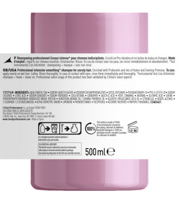 L'Oreal Professionnel Serie Expert Liss Unlimited shampoo (500ml)