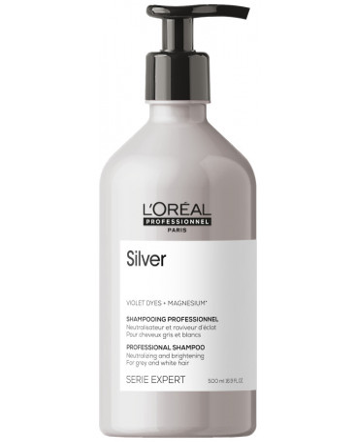 L'Oreal Professionnel Serie Expert Silver šampūnas (500ml)