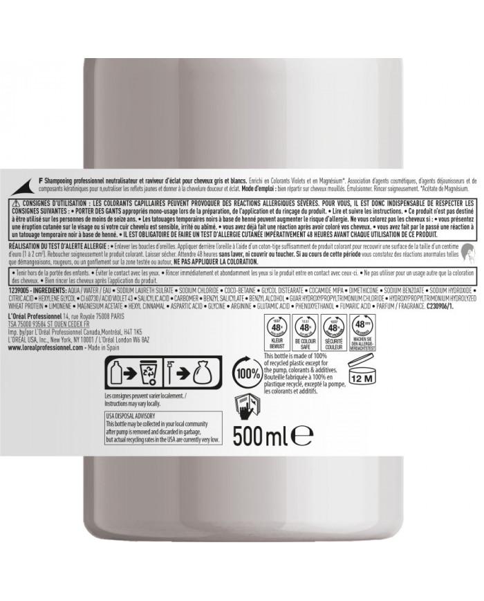 L'Oreal Professionnel Serie Expert Silver shampoo (500ml)