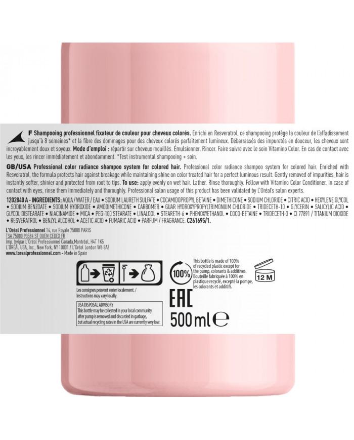 L'Oreal Professionnel Serie Expert Vitamino Color shampoo (500ml)