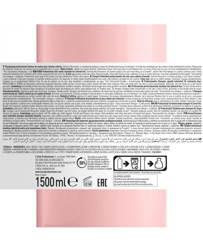 L'Oreal Professionnel Serie Expert Vitamino Color šampūnas (1500ml)