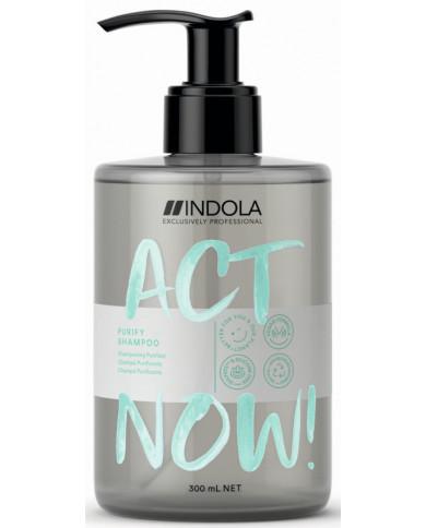 Indola Act Now! Purify šampūnas (300ml)