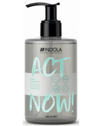 Indola Act Now! Purify shampoo (300ml)