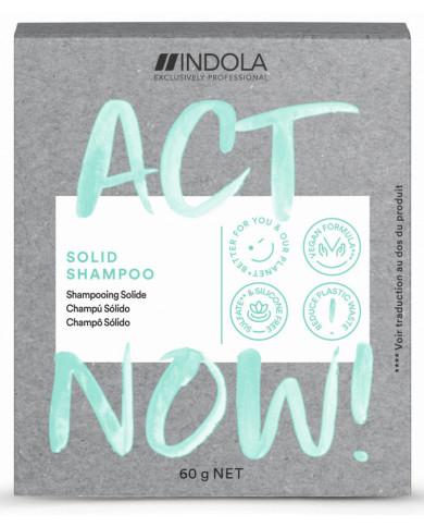 Indola Act Now! solid shampoo