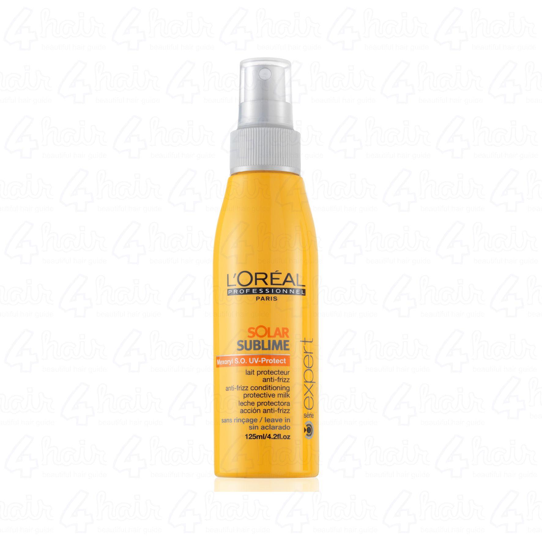 L Oreal Professionnel Solar Sublime Mexoryl S O Uv Protect