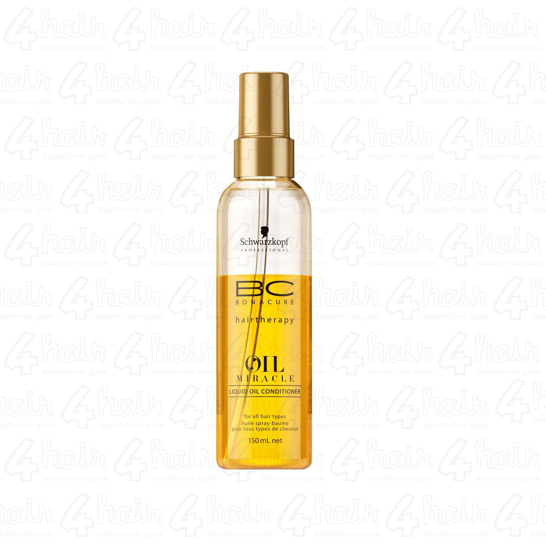 61222f9172 Schwarzkopf Professional Bonacure Oil Miracle liquid oil conditioner -  4HAIR.LV
