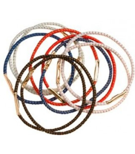 Thin hair rubbers (multiple colors)