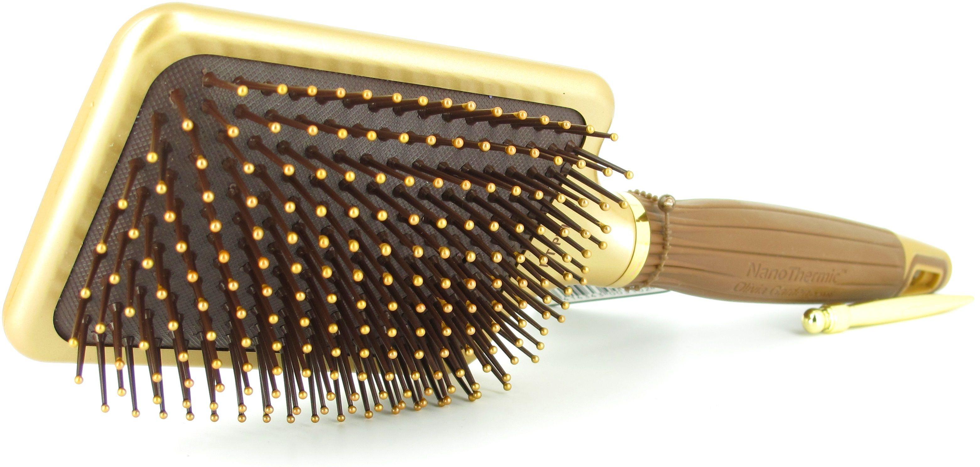 olivia garden nanothermic paddle brush nt pdl 4hairlv - Olivia Garden