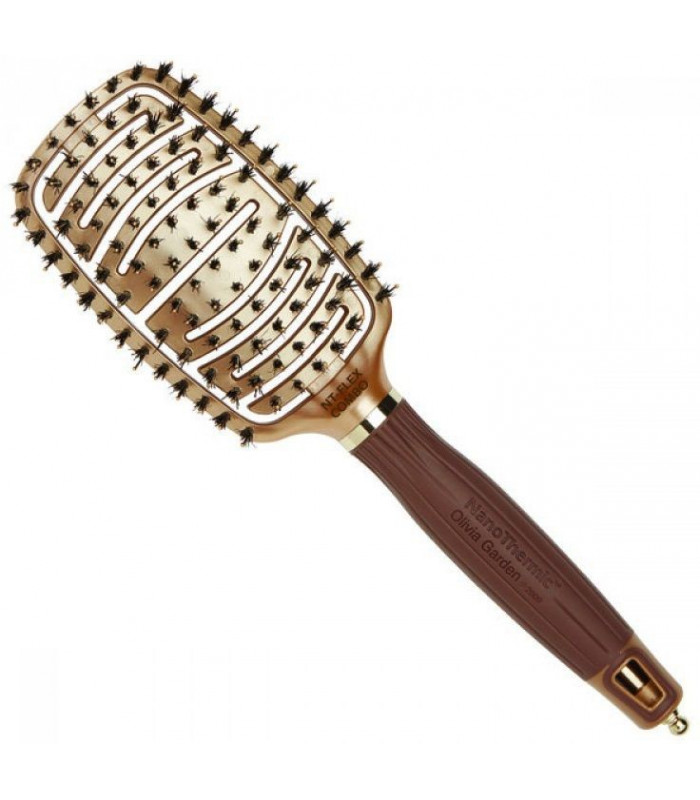 Olivia garden nanothermic ceramic ion flexco hair brush 4hair lv Olivia garden nanothermic brush