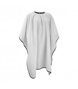 Barber cutting cape (white)