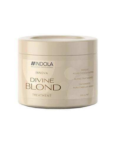 Indola Divine Blond atjaunojoša maska (200ml)