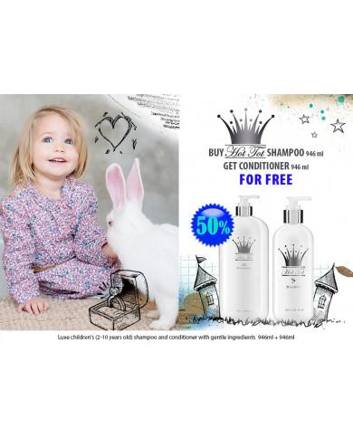 Hot Tot bērnu šampūns 946ml + kondicionieris 946ml