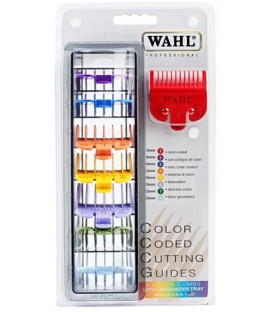 WAHL clipper cutting guide set (color coded)