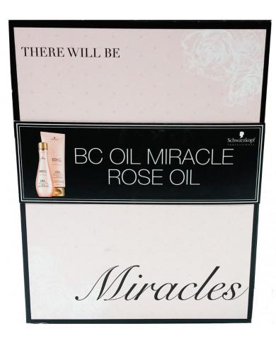 Schwarzkopf Bonacure Oil Miracle Rose Oil dāvanu komplekts