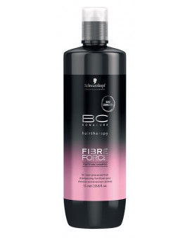 Schwarzkopf Professional Bonacure Fibre Force šampūns (1000ml)