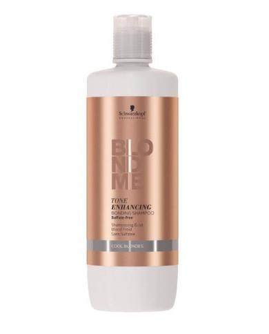 Schwarzkopf Professional BlondMe Tone Enhancing Cool šampūns (1000ml)