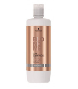 Schwarzkopf Professional BlondMe Tone Enhancing Cool shampoo (1000ml)
