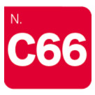 C66-Fire Red