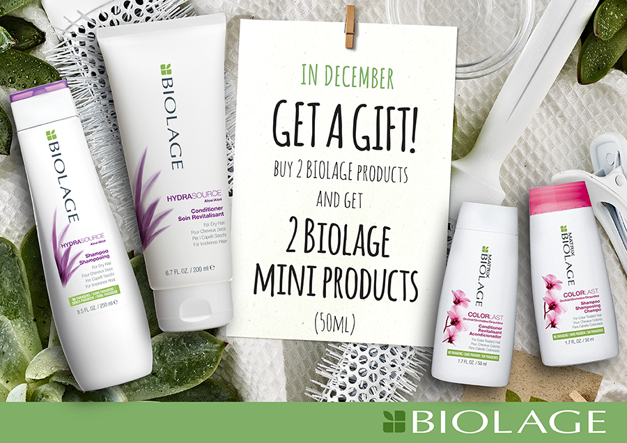 Special offer on BIOLAGE products