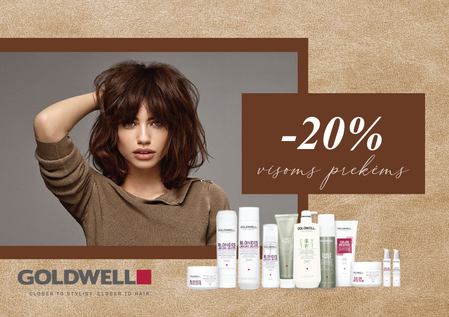 Special prices for GOLDWELL products