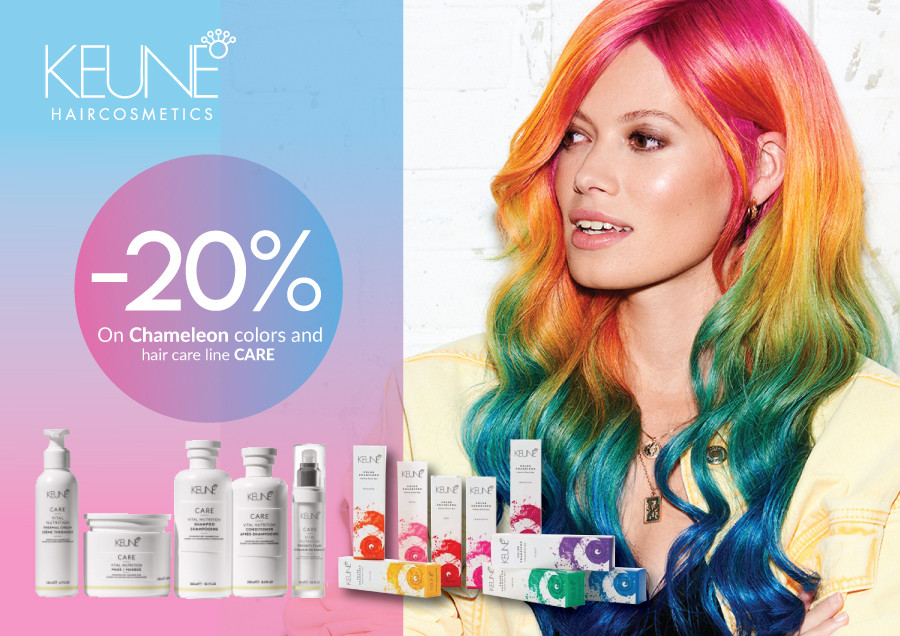 Special prices for KEUNE products