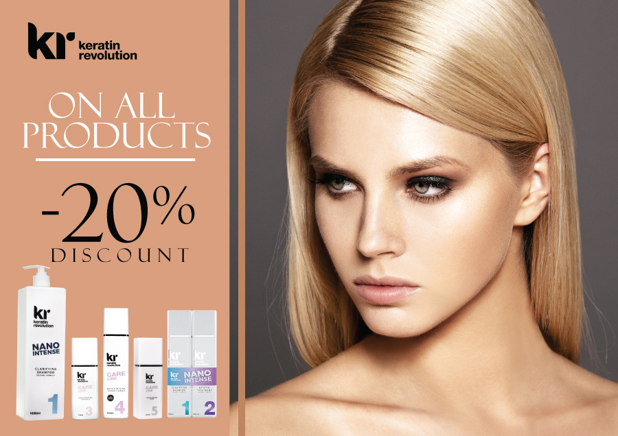 Special prices for KERATIN REVOLUTION products