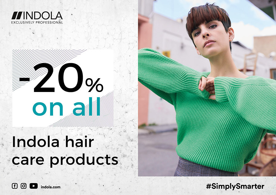 Special prices for INDOLA products