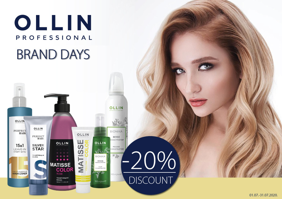 Sale on OLLIN products