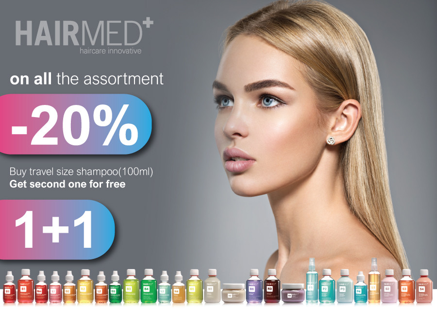 Special prices for HAIRMED products