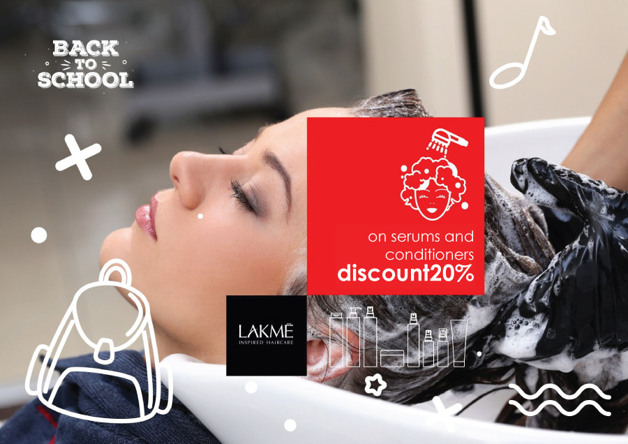 Special prices for LAKME products
