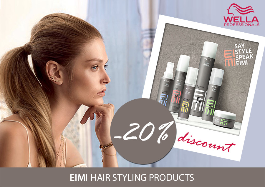 Special prices for WELLA products