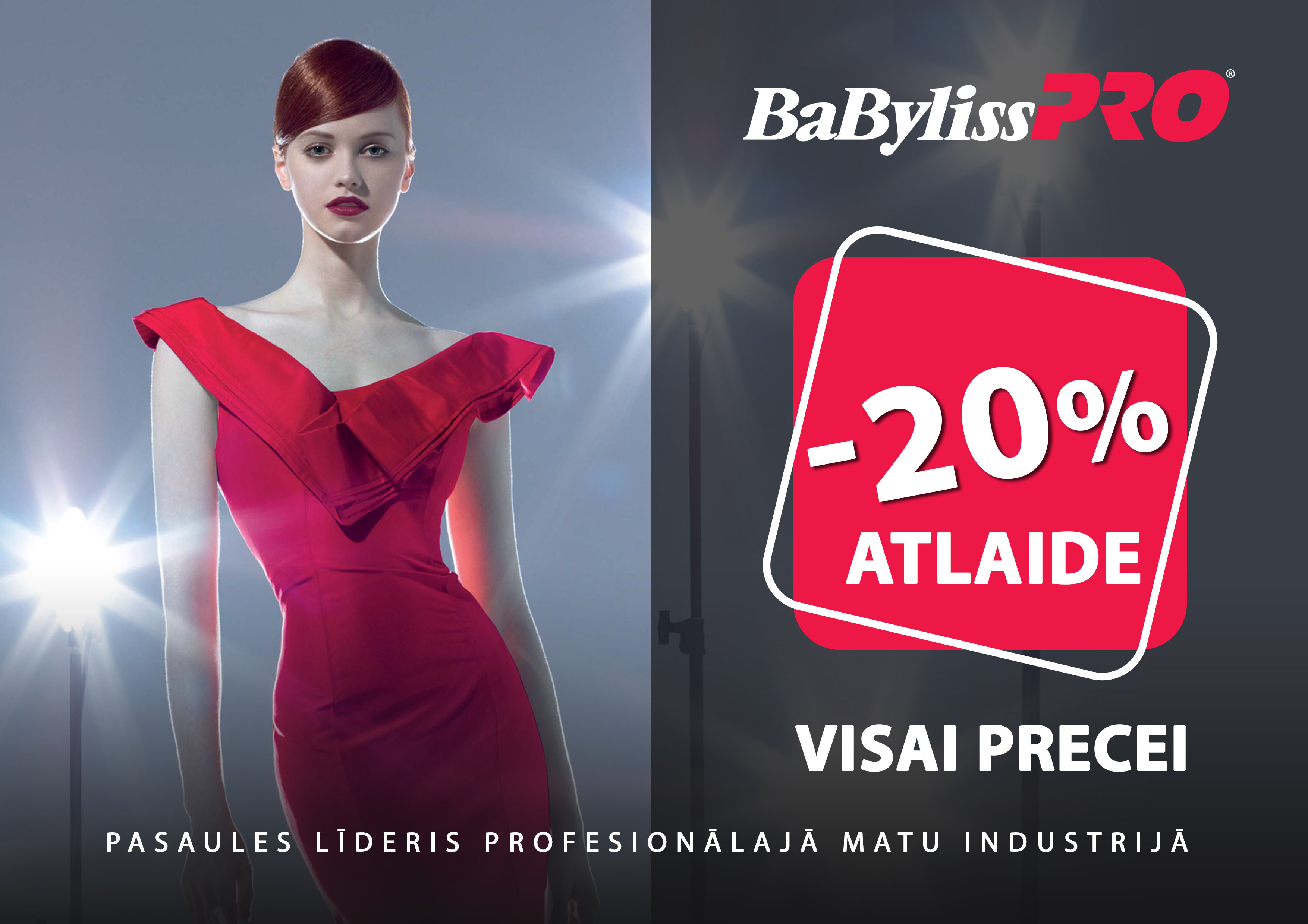 BaByliss PRO -20% price off