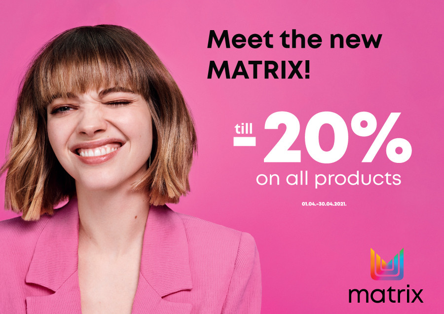 Special prices for MATRIX products