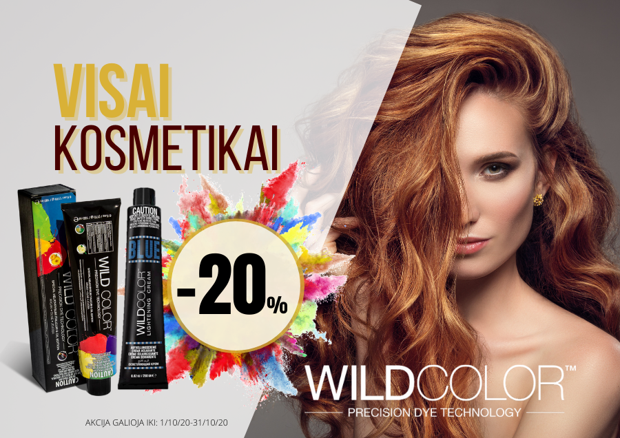 Special prices for WILDCOLOR products